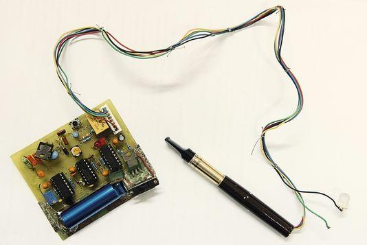Image première cigarette électronique