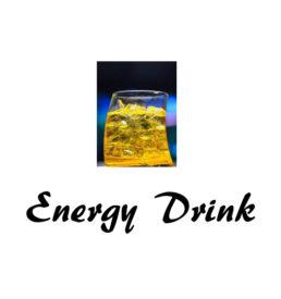 E liquide energy drink