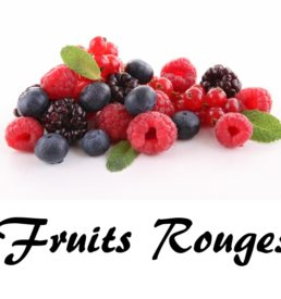 E liquide fruits rouges