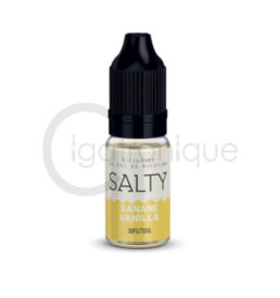 E liquide banane vanilla salty