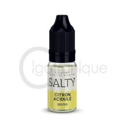 E liquide citron acidulé salty