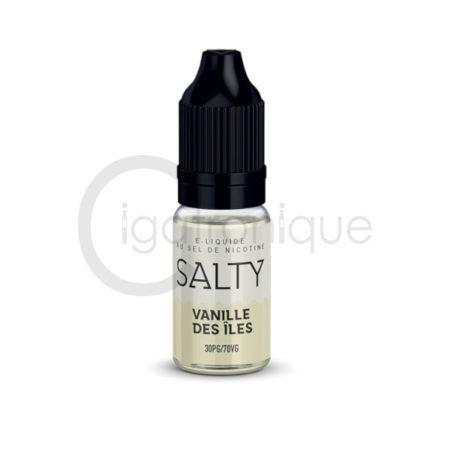 E liquide vanille des îles salty